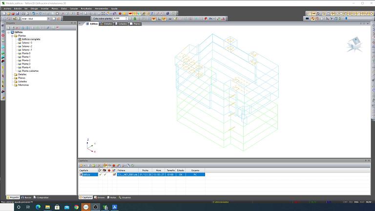 Modelado de edificios con Tekton3D