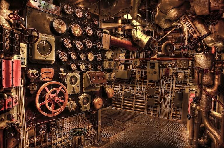 Salas de máquinas de instalaciones térmicas.