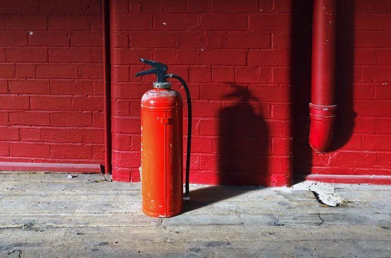 Seguridad contra incendios en salas de calderas.